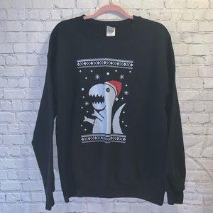T-REX Holiday Dino Sweatshirt!